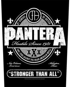 PANTERA - Stronger than All - Backpatch / Rückenaufnäher