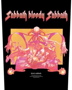 BLACK SABBATH - Sabbath bloody Sabbath - Backpatch / Rückenaufnäher