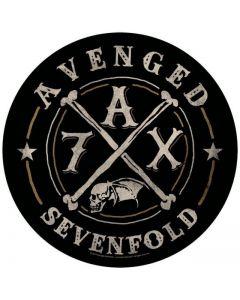 AVENGED SEVENFOLD - A7X Logo - Backpatch / Rückenaufnäher
