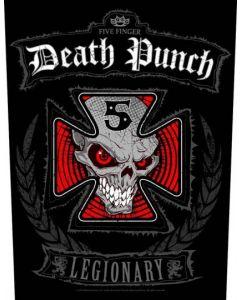 FIVE FINGER DEATH PUNCH - Legionary - Backpatch / Rückenaufnäher