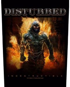 DISTURBED - Indestructible - Rückenaufnäher / Backpatch