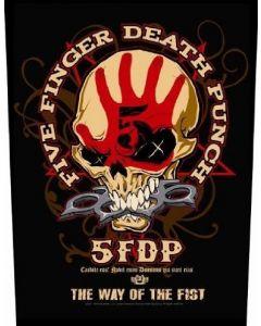FIVE FINGER DEATH PUNCH - Bonehead - Rückenaufnäher / Backpatch