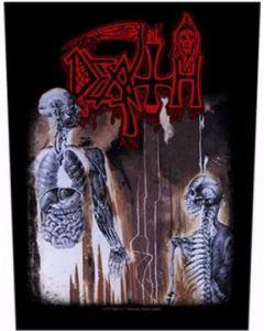 DEATH - Human - Rückenaufnäher / Backpatch