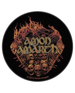 AMON AMARTH - Battlefield - Backpatch / Rückenaufnäher