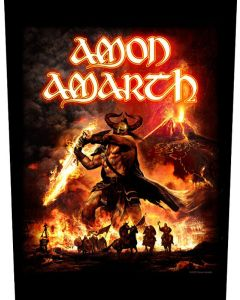 AMON AMARTH - Sutur Rising - Backpatch / Rückenaufnäher