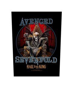 AVENGED SEVENFOLD - Hail to the King - Rückenaufnäher / Backpatch
