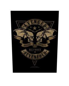 AVENGED SEVENFOLD - Orange County - Rückenaufnäher / Backpatch