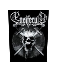 ENSIFERUM - Skull - Backpatch / Rückenaufnäher
