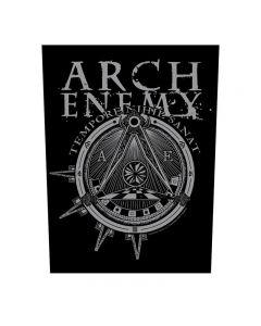 ARCH ENEMY - Illuminati - Backpatch / Rückenaufnäher