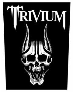TRIVIUM - Screaming Skull - Backpatch / Rückenaufnäher