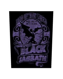 BLACK SABBATH - Lord of this World - Rückenaufnäher / Backpatch