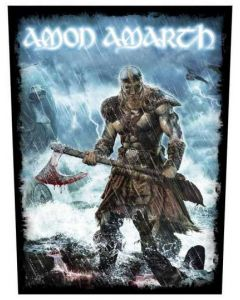 AMON AMARTH - Jomsviking - Backpatch / Rückenaufnäher