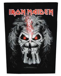 IRON MAIDEN - Eddie - Candle Finger - Backpatch / Rückenaufnäher