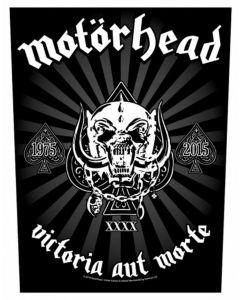 MOTÖRHEAD - Victoria Aut Morte - Backpatch / Rückenaufnäher
