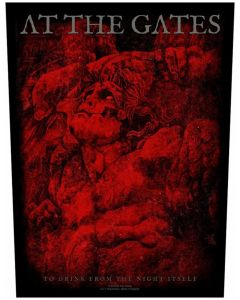 AT THE GATES - To drink from the night itself - Backpatch / Rückenaufnäher