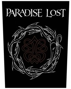 PARADISE LOST - Crown of Thorns - Backpatch / Rückenaufnäher