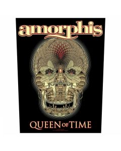 AMORPHIS - Queen of Time - Backpatch / Rückenaufnäher