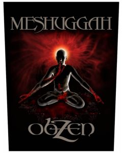 MESHUGGAH - Obzen - Backpatch / Rückenaufnäher