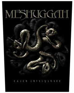 MESHUGGAH - Catch 33 - Backpatch / Rückenaufnäher