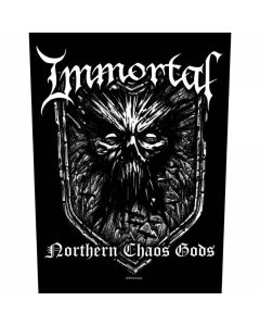 IMMORTAL - Northern Chaos Gods - Backpatch / Rückenaufnäher