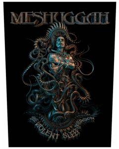 MESHUGGAH - Violent Sleep of reason - Backpatch / Rückenaufnäher