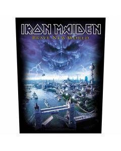 IRON MAIDEN - Brave New World - Backpatch / Rückenaufnäher