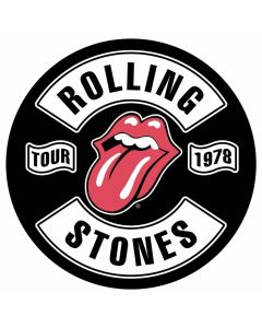 THE ROLLING STONES - Tour 1978 - Backpatch / Rückenaufnäher
