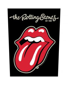THE ROLLING STONES - Plastered Tongue - Backpatch / Rückenaufnäher