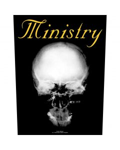 MINISTRY - The Mind Is A Terrible Thing To Taste - Backpatch / Rückenaufnäher