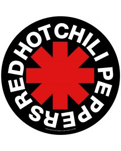RED HOT CHILI PEPPERS - Asterisk - Backpatch / Rückenaufnäher