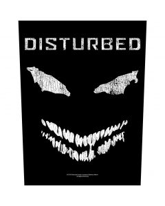 DISTURBED - Face - Backpatch / Rückenaufnäher