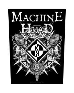 MACHINE HEAD - Bloodstone & Diamonds - Backpatch / Rückenaufnäher
