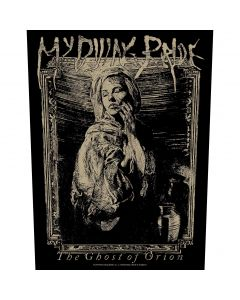 MY DYING BRIDE - The Ghost Of Orion - Woodcut - Backpatch / Rückenaufnäher