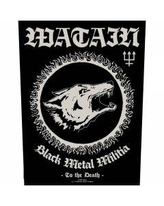 WATAIN - Black Metal Militia - Backpatch / Rückenaufnäher