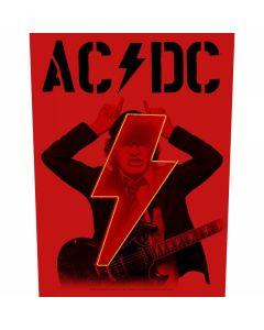 AC/DC - PWR-UP - Angus - Lightning Horns - Backpatch / Rückenaufnäher