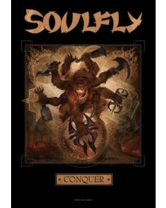 SOULFLY - Conquer - Posterflag