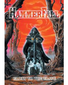 HAMMERFALL - Glory to the Brave - Posterflag