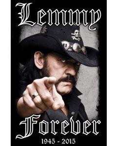 MOTÖRHEAD - Lemmy Forever - Textile Poster / Posterflag