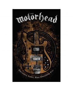 MOTÖRHEAD - Lemmys Bass - Textile Poster / Posterflag