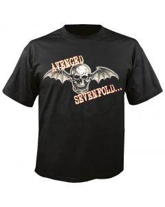 AVENGED SEVENFOLD - Death Bat Glow - T-Shirt