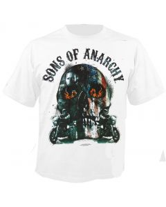 SONS OF ANARCHY - Biker Skull - T-Shirt