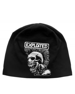 THE EXPLOITED - Mohican Skull - Light - Beanie
