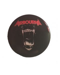 AIRBOURNE - Black Dog Barking - Button / Anstecker