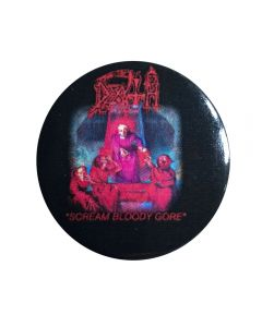 DEATH - Scream Bloody Gore - Button / Anstecker