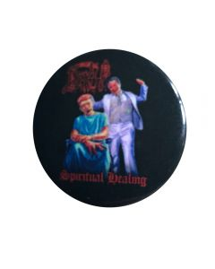 DEATH - Spiritual Healing - Button / Anstecker