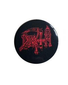 DEATH - Logo - Red - Button / Anstecker