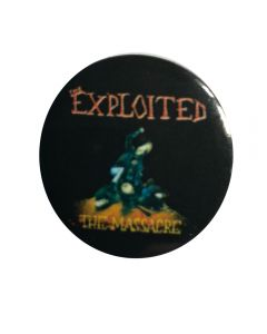 THE EXPLOITED - The Massacre - Button / Anstecker