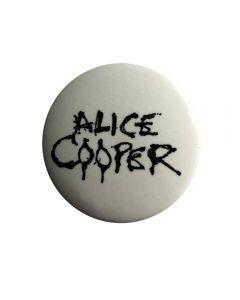 ALICE COOPER - Logo - Button / Anstecker