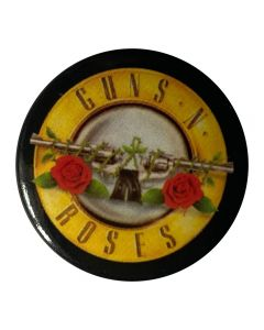 GUNS N ROSES - Bullet Logo - Button / Anstecker