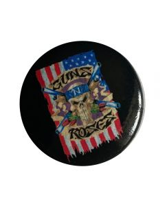 GUNS N ROSES - Flag - Button / Anstecker